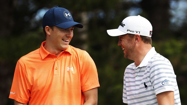 Spieth and Thomas won eight titles between during the 2016-17 season