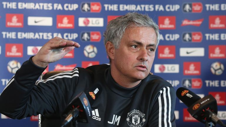 Mourinho spoke about the 'heritage' he inherited at United when he replaced Louis van Gaal in May 2016