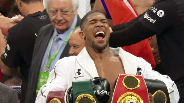 Anthony Joshua beat Joseph Parker on Saturday night - but he was taken the distance for the first time in his career