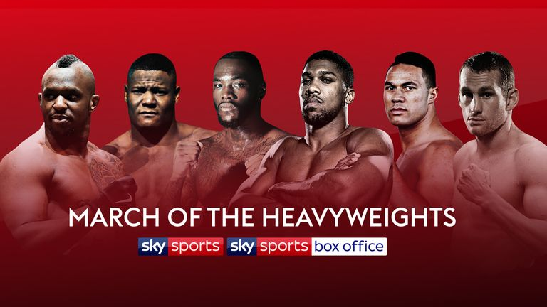 Joshua, Wilder, Parker,, Price, Whyte and Ortiz all star in Sky Sports and Sky Sports Box Office's  March of the Heavyweights.