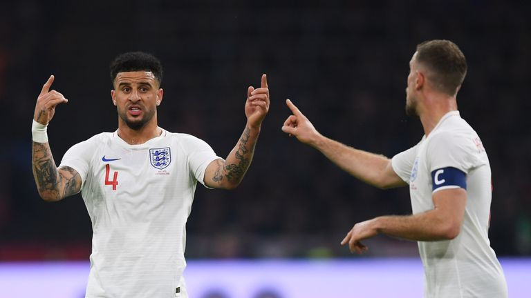 during the international friendly match between Netherlands and England at Johan Cruyff Arena on March 23, 2018 in Amsterdam, Netherlands.