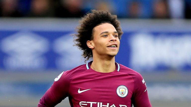 Leroy Sane has been in fantastic form for Manchester City