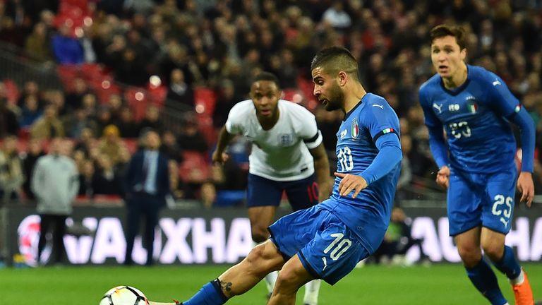 Lorenzo Insigne's late penalty denied England a second 1-0 win in the international break