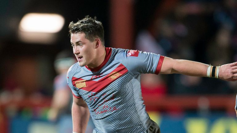 Lucas Albert guided Catalans to their first win on the 2018 Super league season