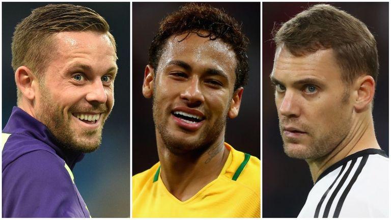 Sigurdsson, Neymar, Neuer