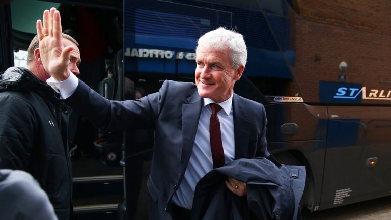 Mark Hughes won his first game in charge of Southampton