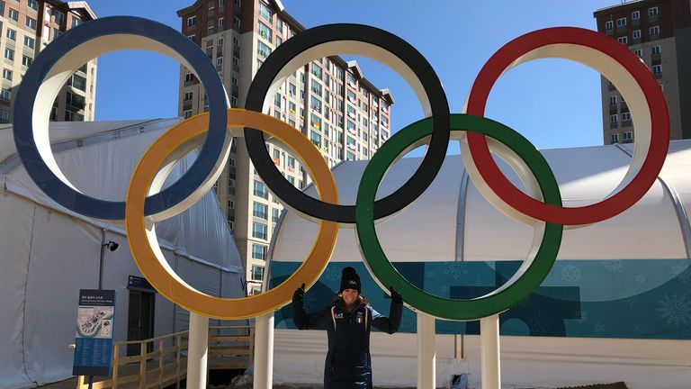 Marta was blown away by the spirit of the Winter Games