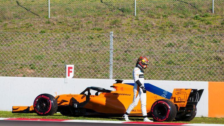 F1 Testing: McLaren savour late 'boost' as Fernando Alonso