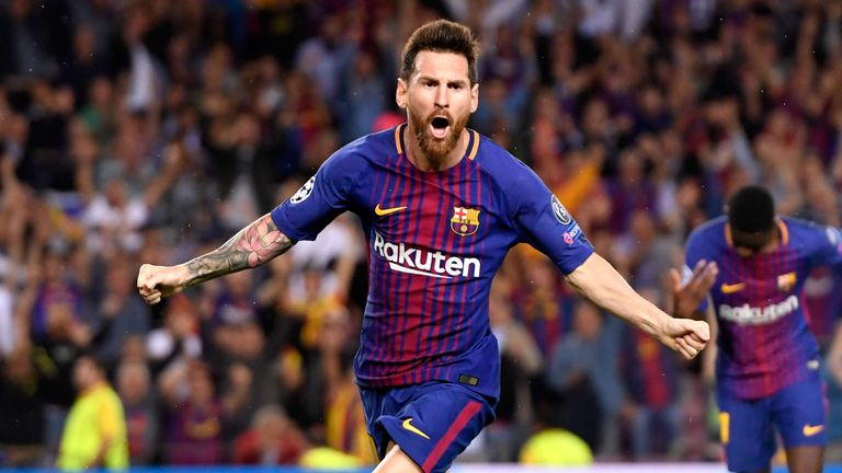 Lionel Messi is the top scorer in La Liga so far this season