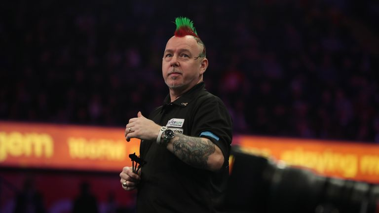 Peter Wright will be hoping to return to form in Wolverhampton