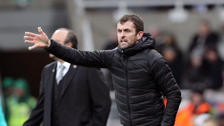 Nathan Jones took the unusual step of naming his 'mentor' as his assistant