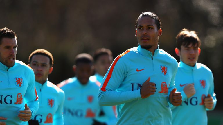 Virgil van Dijk is expected to captain Koeman's new-look side
