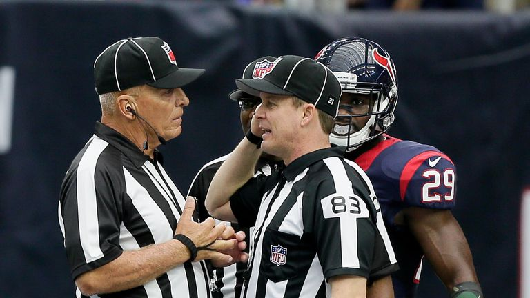 The NFL has an instant replay review process on place