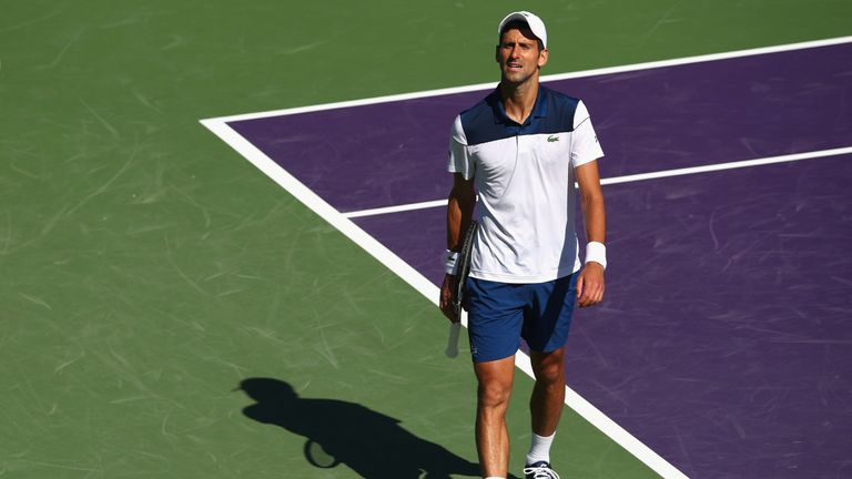 Novak Djokovic's frustrations have continued this season