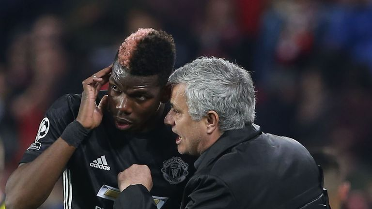 Mourinho is still trying to find the right role for Pogba in his system