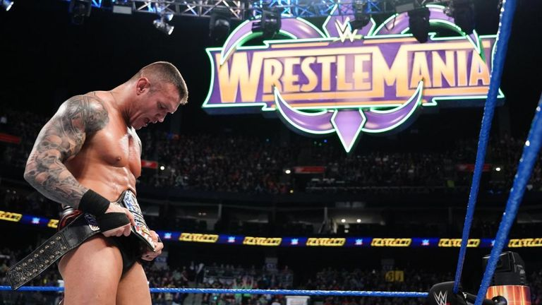 Randy Orton became a Grand Slam champion by winning the United States title at Fastlane