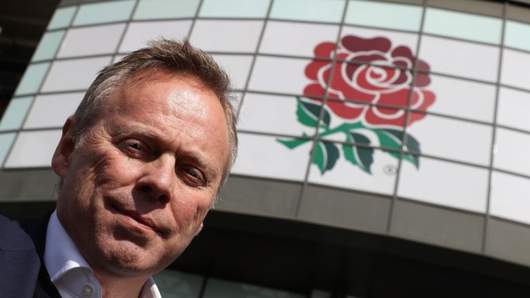 RFU chief executive Steve Brown wants to make England more accessible