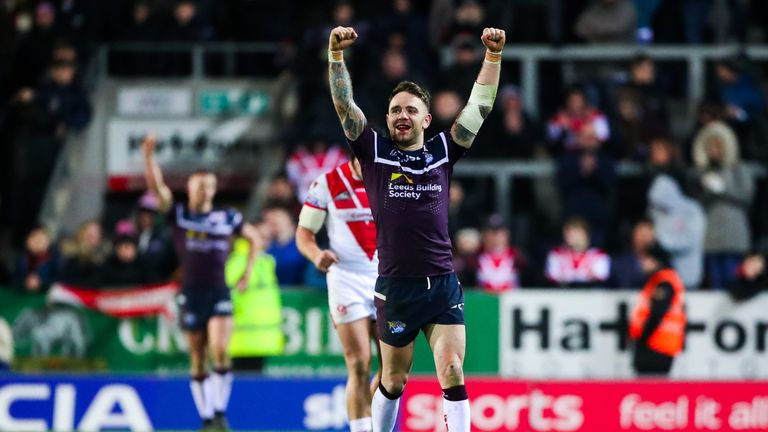 Richie Myler scored a 36th-minute try