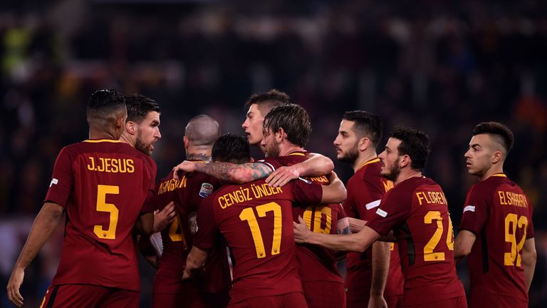 Roma face Liverpool in the Champions League semi-finals