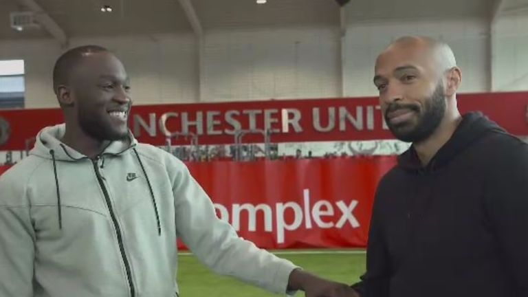 Romelu Lukaku speaks in an exclusive interview with Thierry Henry