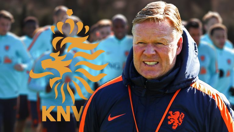 Ronald Koeman takes charge of his first Netherlands game on Friday