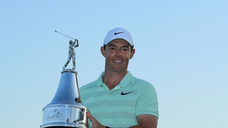 McIlroy's win at Bay Hill was his first for almost 18 months