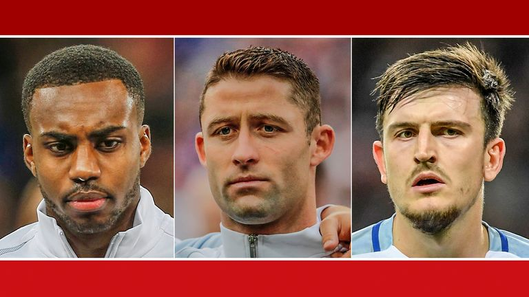 Will Danny Rose, Gary Cahill and Harry Maguire make the cut?