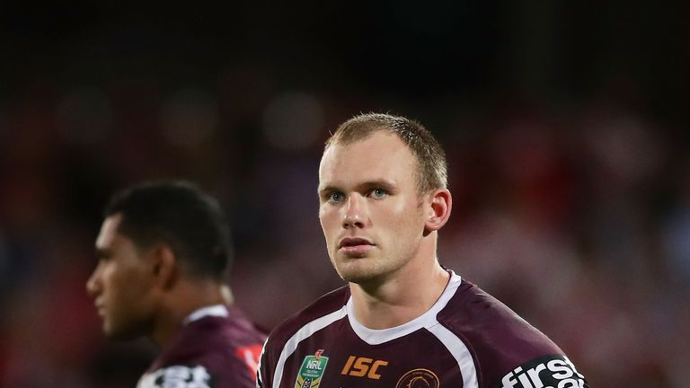 Matt Lodge joined Brisbane for the 2018 season after a three-year NRL absence
