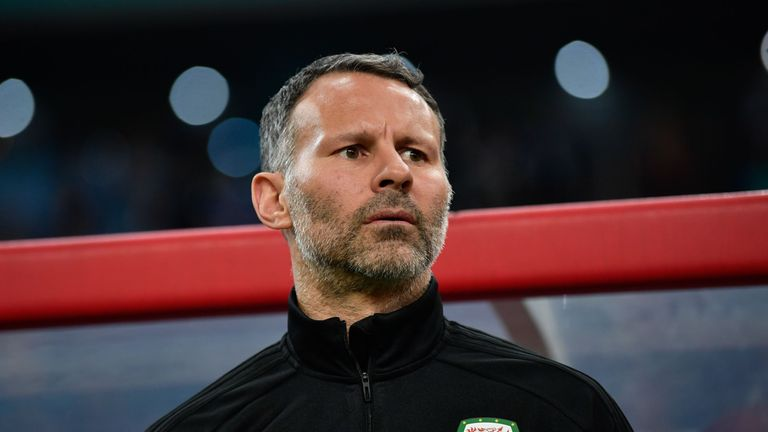 Ryan Giggs Wales China Cup