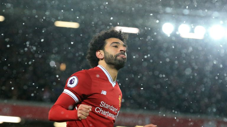 Mo Salah scored four goals against Watford on Saturday