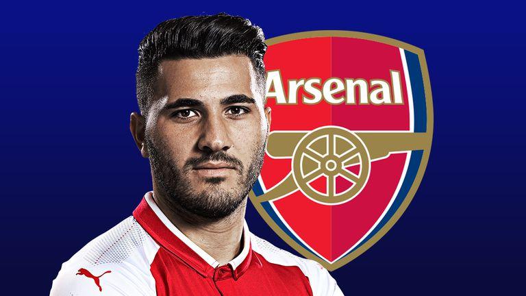 Sead Kolasinac joined Arsenal from Schalke in the summer