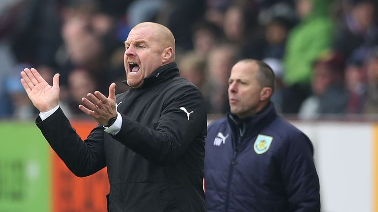 during the Premier League match between Burnley and Everton at Turf Moor on March 3, 2018 in Burnley, England.