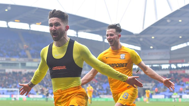Preston North End's Sean Maguire has found form in recent weeks