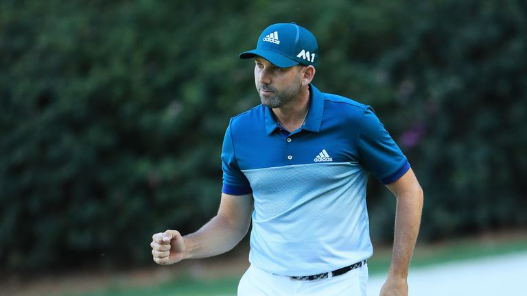 Garcia made a crucial par at the 13th on the final day at Augusta last year