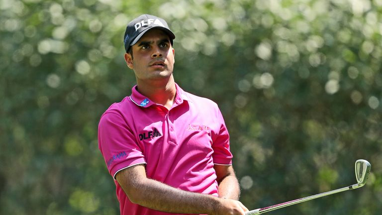 Sharma received a special invite from the Augusta chairman