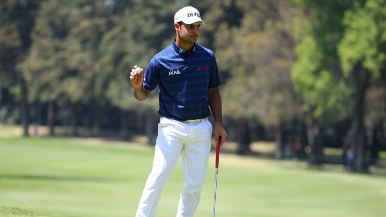 Sharma does not believe he is a top contender at this week's Indian Open