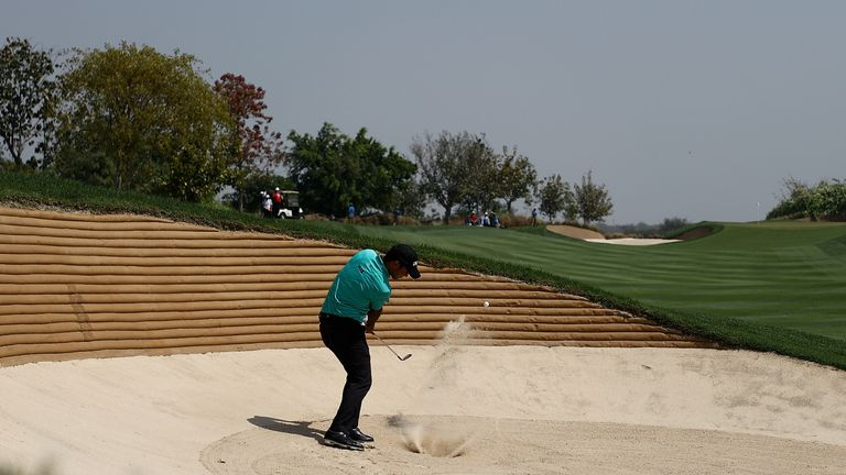 Sharma failed to follow on from his impressive showing at the WGC-Mexico Championship