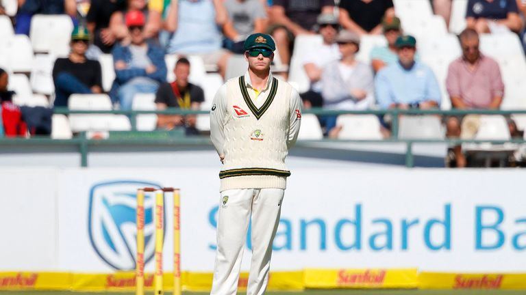 Steve Smith stepped down from the Australian captaincy for the final day of the Cape Town Test