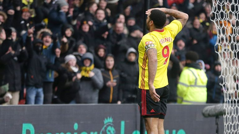 Deeney has doubled his Premier League goal tally in his last two games