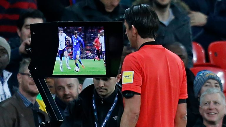 Italy claimed a late draw against England thanks to VAR