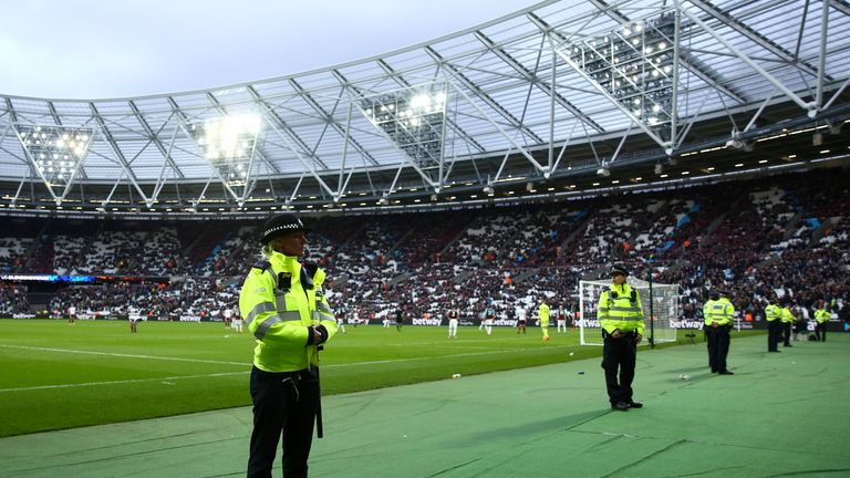 The FA are considering charging West Ham over the supporter unrest
