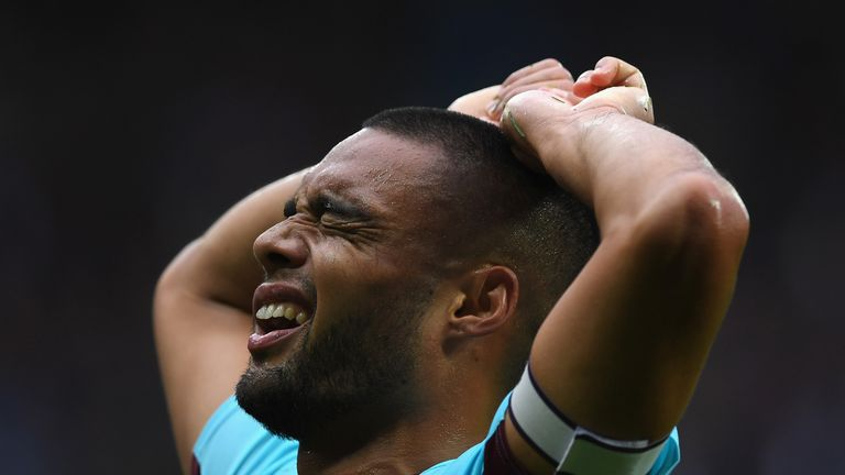 Winston Reid is out for the remainder of the season