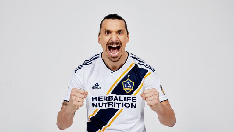 best sneakers 19620 350fd Zlatan Ibrahimovic joins LA Galaxy after Manchester United ...