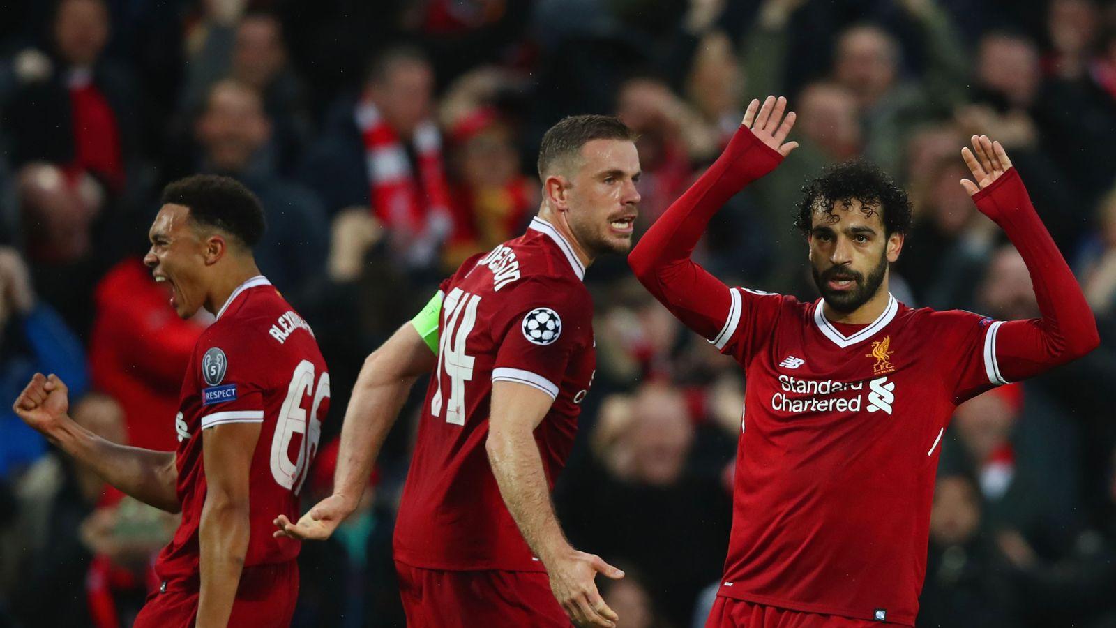 Liverpool 5 - 2 Roma - Match Report & Highlights