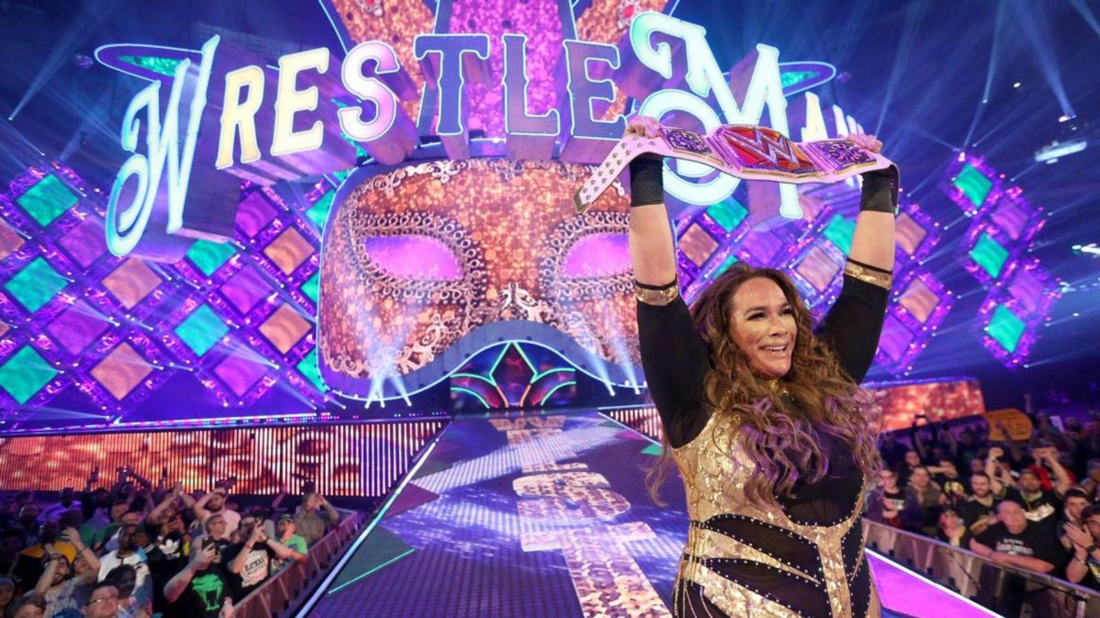 Sky Wrestlemania 34