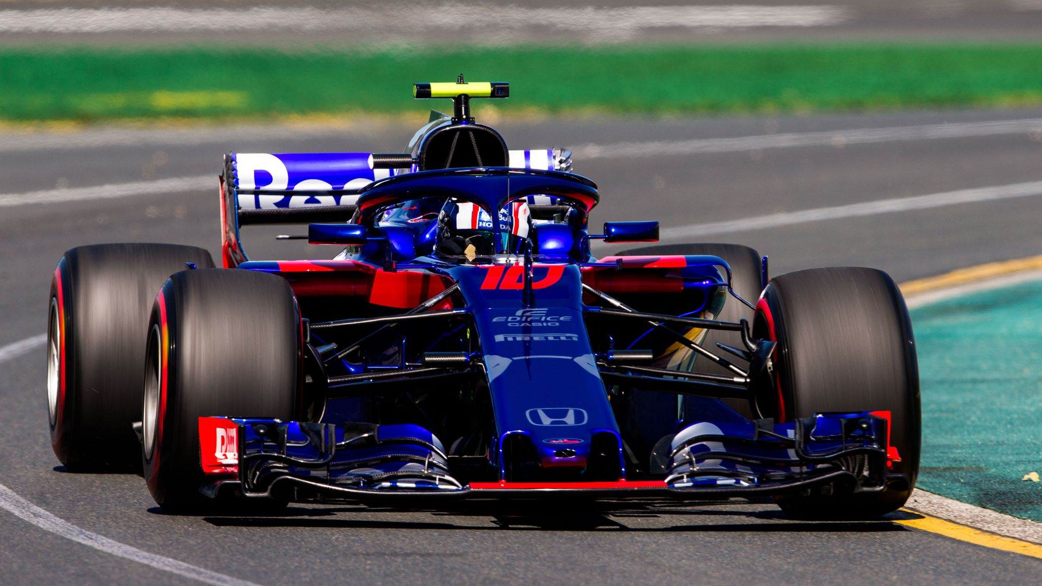 Bahrain GP: Toro Rosso's Pierre Gasly and Brendon Hartley to