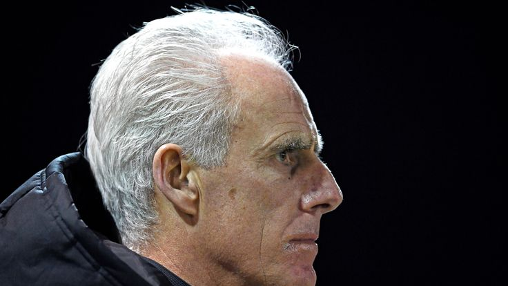 Mick McCarthy during the Emirates FA Cup third round replay between Lincoln City and Ipswich Town at Sincil Bank Stadium on January 17, 2017 in Lincoln, England.