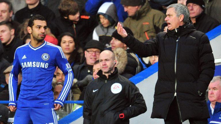 Salah struggled for opportunities at Chelsea under Jose Mourinho
