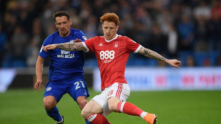 Jack Colback is on the verge of a return to Nottingham Forest
