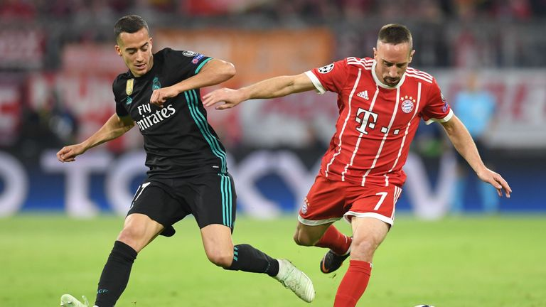 Franck Ribery could not inspire a Bayern Munich fightback in the closing stages